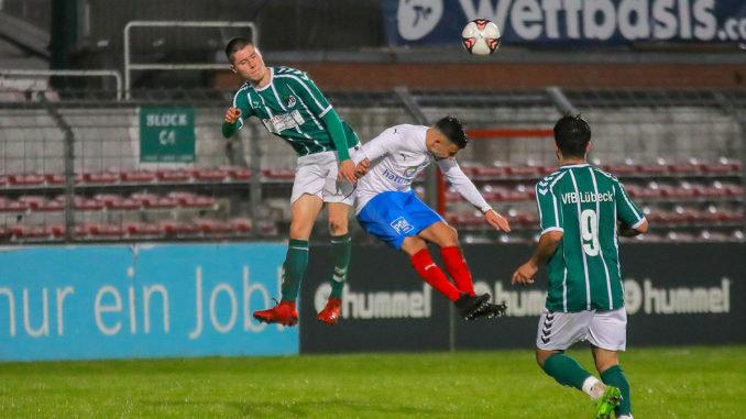 Dombrowski (VfB Lübeck II), Enes Dagli (Phönix Lübeck)
