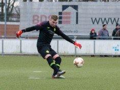 Heimspiel für Hendrik Rabe und den SC Victoria: führt der Keeper die Ebbers-Elf in zweite Runde? (Foto: Lobeca/Seidel)